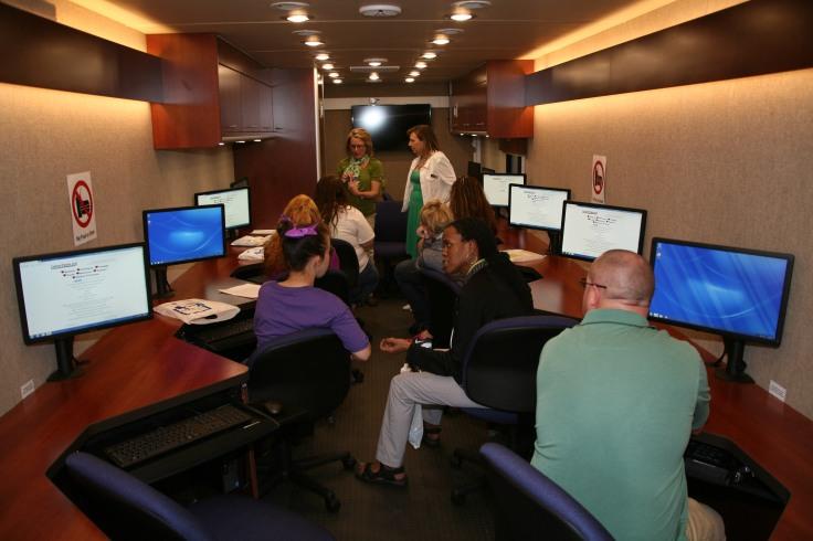 inside the Mobile Career Center