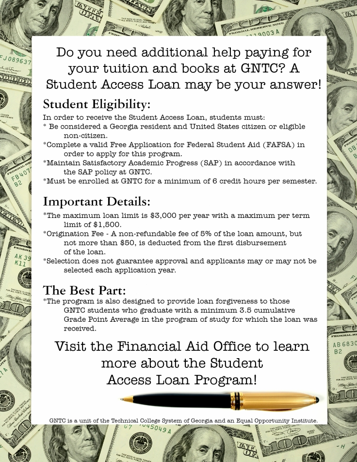 Student Access Loan Flyer 1 Student Email