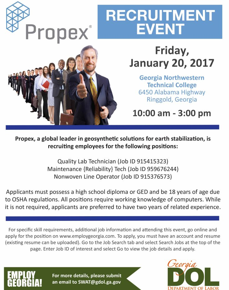 Propex Recruitment Event